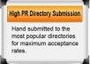 submit your Press Release to PRBuzz, SBWire, Premium Pressdoc, MyPRGenie