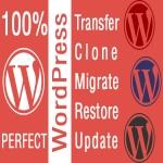 WordPress Hosting Migration/Backup Restore/Clone/Reset User/Password