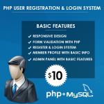 Get a secure PHP & MySQL login and registration system