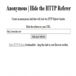 Hide HTTP Referer Header Scripts