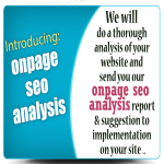 OnPage SEO Analysis & Optimization recomendation for better ranking in google for