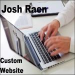 create a custom business website