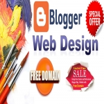 I will Create Premium Design Website with Blogger