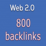 Deliver 800 Web 2.0 HQ Profiles Backlinks for Your Site
