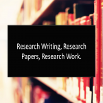 Write a research paper for you