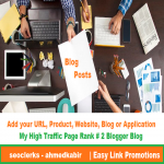 Post your app or game on My High Traffic PR2 Blog