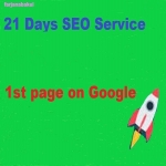 do 21 days SEO service 1st page on Google Guaranteed