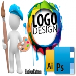 Logo all time professional Design very first delivery