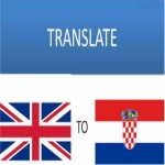 Translate English to Croatian and vice versa for 5