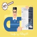 Resume/cover letter designed for you