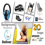 20 images Background Removal and Fast Delivery