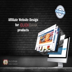 Design from scratch an affiliate website with CLICKBANK products