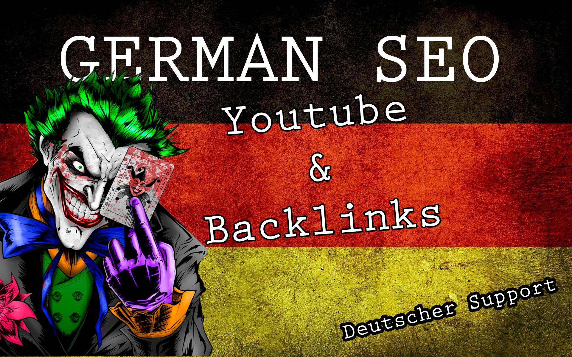 Biete Deutsche SEO mit Support