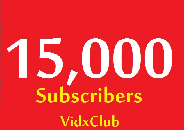 15000+ YouTube HQ subs cribers VERY CHEAP for 50$