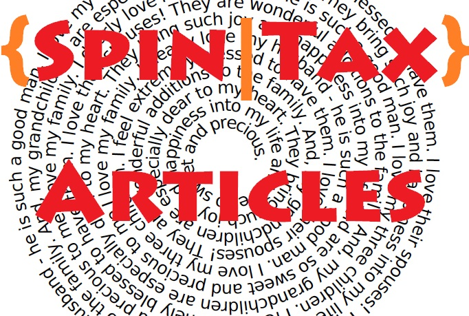 I need Spintax a Article