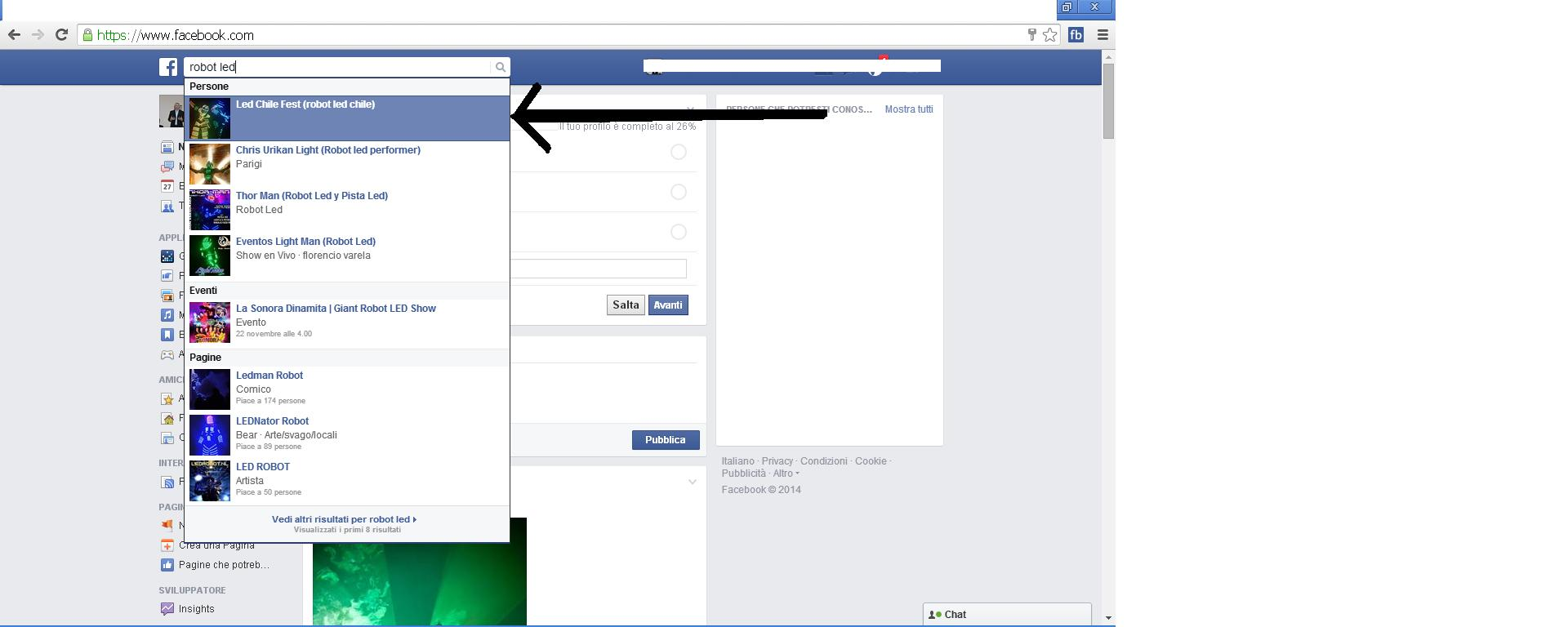 first position facebook search - SEOClerks