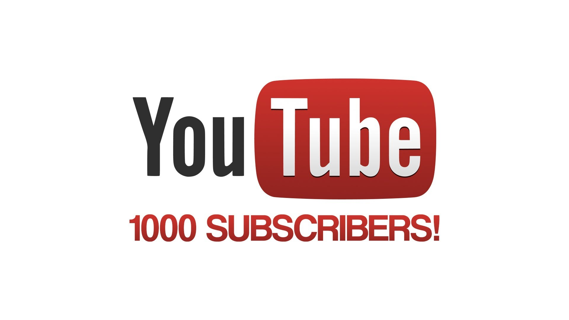 1000 subscribers special thank you all 3of4 5