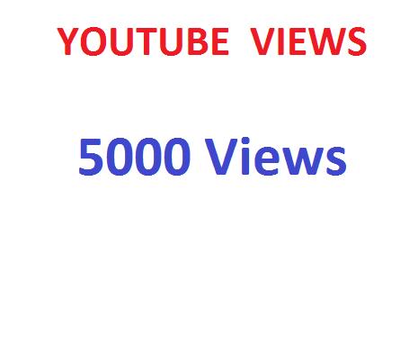 Youtube Views 5000