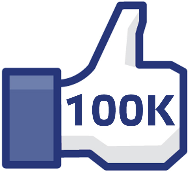 100000 Likes on Facebook 100000 100k Facebook Like to