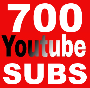 700 Youtube Subs for $5, Non Drop, Guarantee
