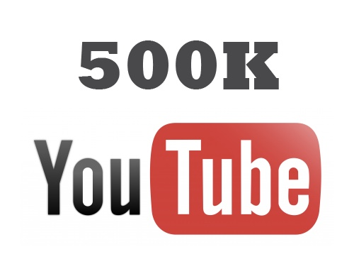 I NEED 500k YOUTUBE SUBS