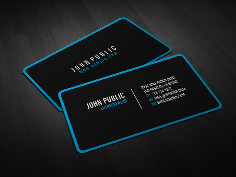 Design Professional Business Card for $5