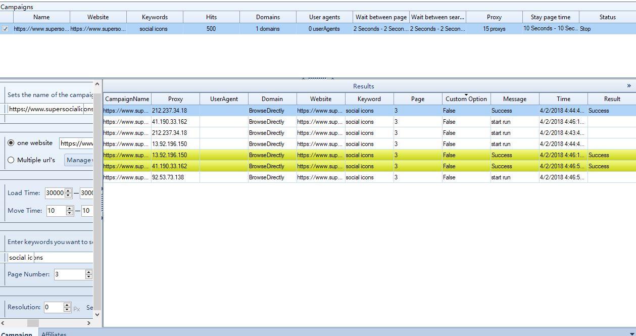 Proxy set up for Traffic bot - SEOClerks