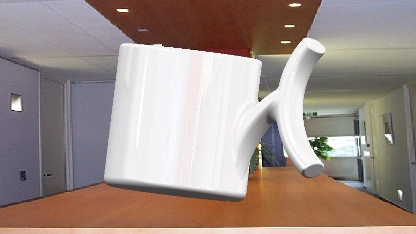 Raising money for new cup design