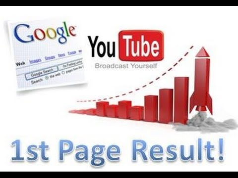 Rank Youtube Video as first or second line on youtube search