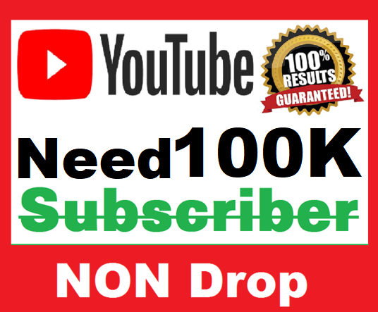 NEEDED 100K YOUTUBE SUBSCRIBERS REAL