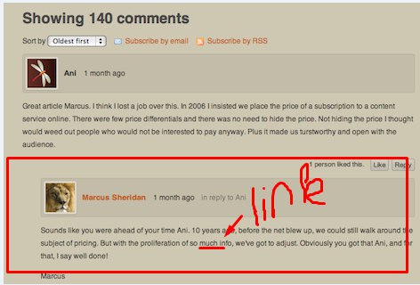 bfd741fb830 10 forum comments with my link  Job for  10 by ElsaWood - SEOClerks