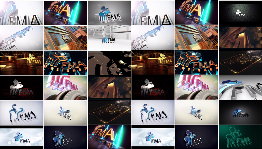 2 Amazing 3d Intro Video For Your Logo Or Name