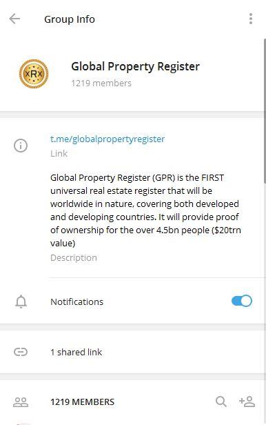 Telegram link promotion