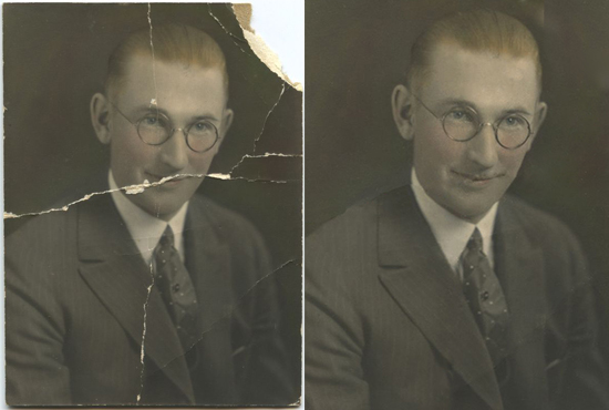 I Will Restore, Repair,Fix Damaged, Colorize Old  Photos