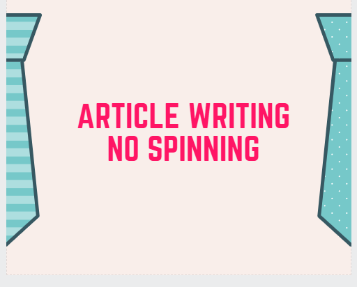 Article Writing for Blog Post !!! Read Description