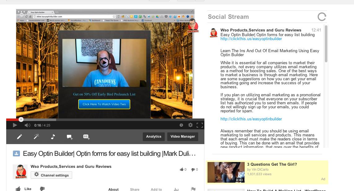Need Massive YouTube Backlinking NOW - SEOClerks